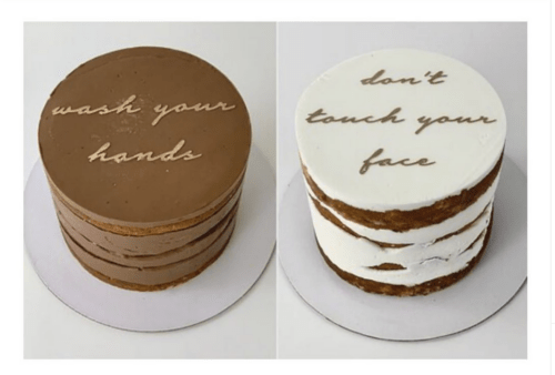 New Normal Shelter-In-Place Birthday Cakes