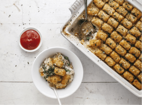 Brisket and Tatar Tot Recipe