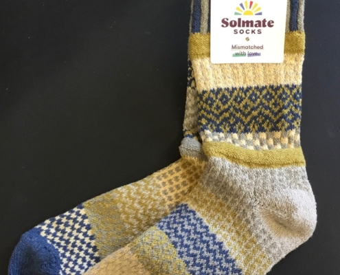 Solmate Sagebrush Crew Sock available at Canada Goose Gallery in Waynesville, Ohio.
