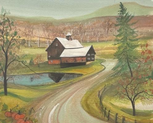 p-buckley-moss-autumn-on-the-farm-art-print